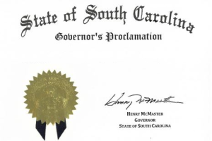 Governor Henry McMaster Proclaims September 30, 2021, Health Information Technology Day